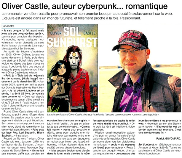 Article Ouest France 20140706